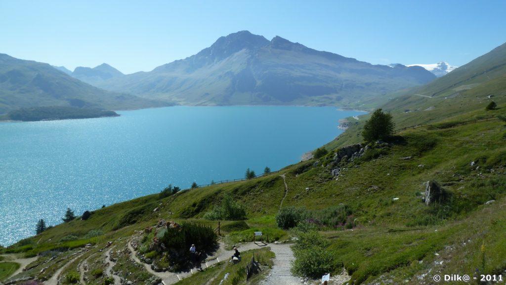 Le lac du Mont-Cenis et le jardin alpin