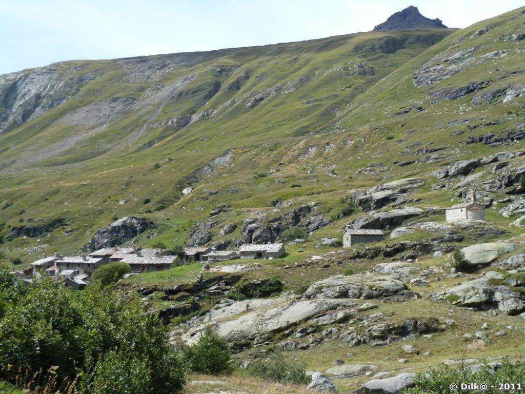 Le hameau de l'Écot
