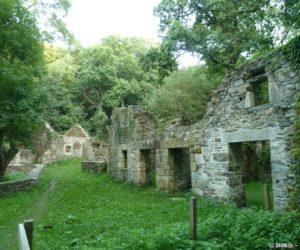 Les ruines du Moulin de la Mer