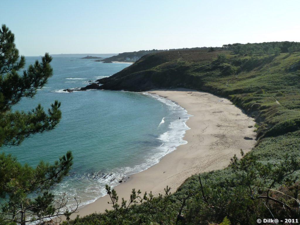 La plage du Portuais