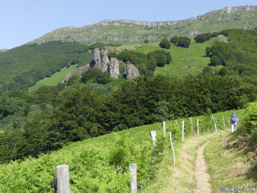 La crête du Puy Chavaroche