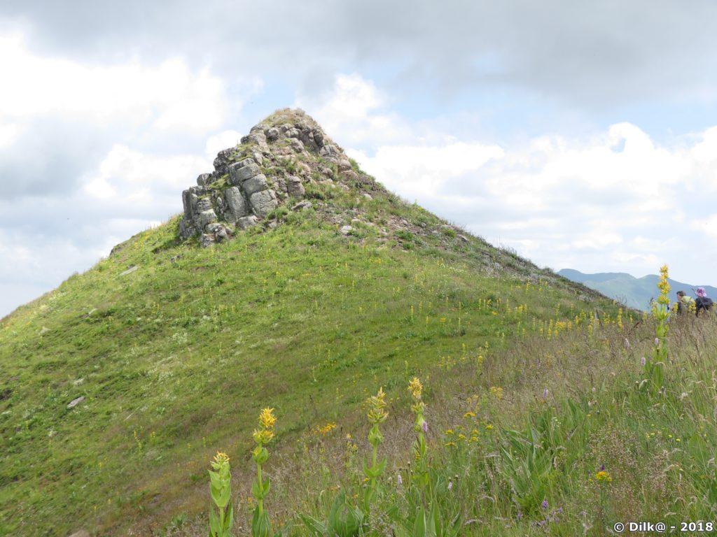 Le sommet de l'Elancèze