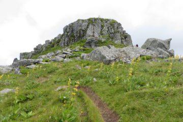 Le sommet de la Cabrespine