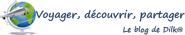 Voyager, découvrir, partager logo