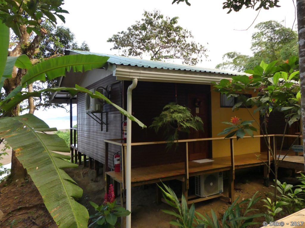 notre gîte à Drake Bay