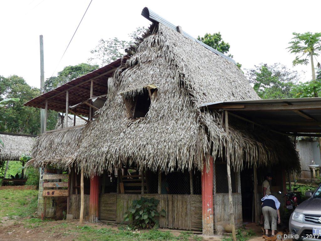 la maison de notre hôte indien