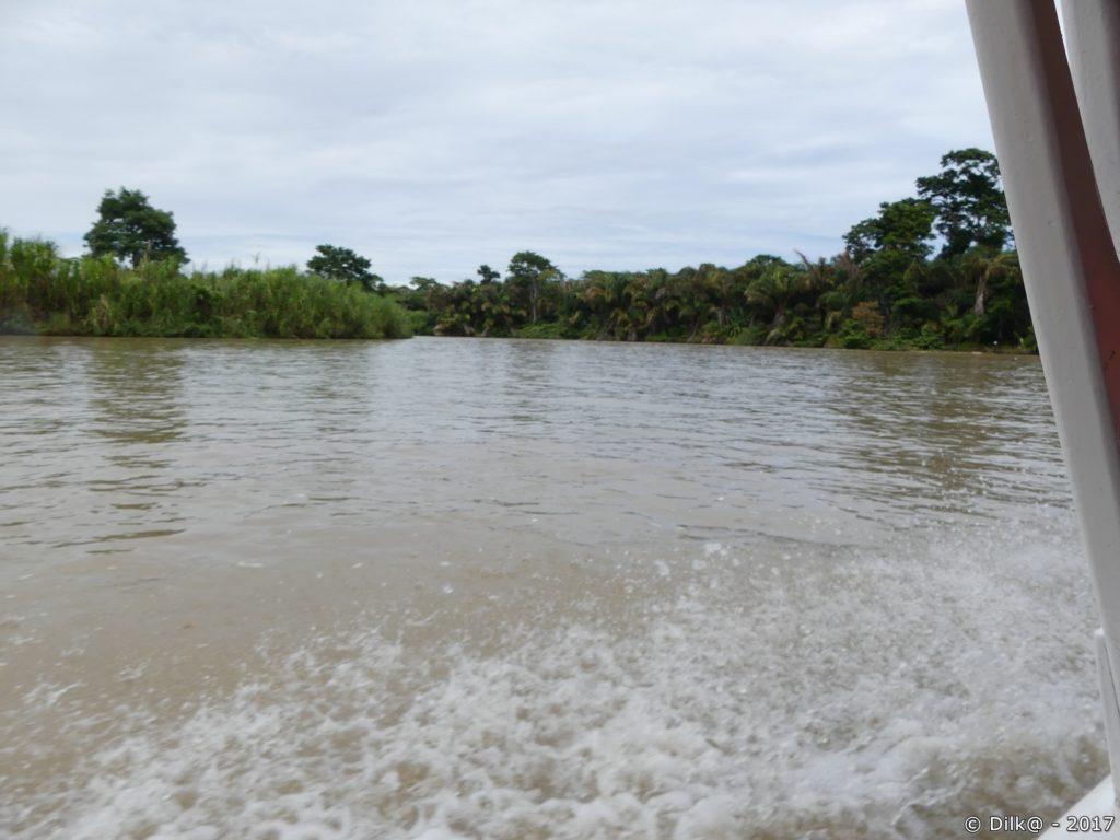 bateau-taxi sur les canaux de Tortuguerro