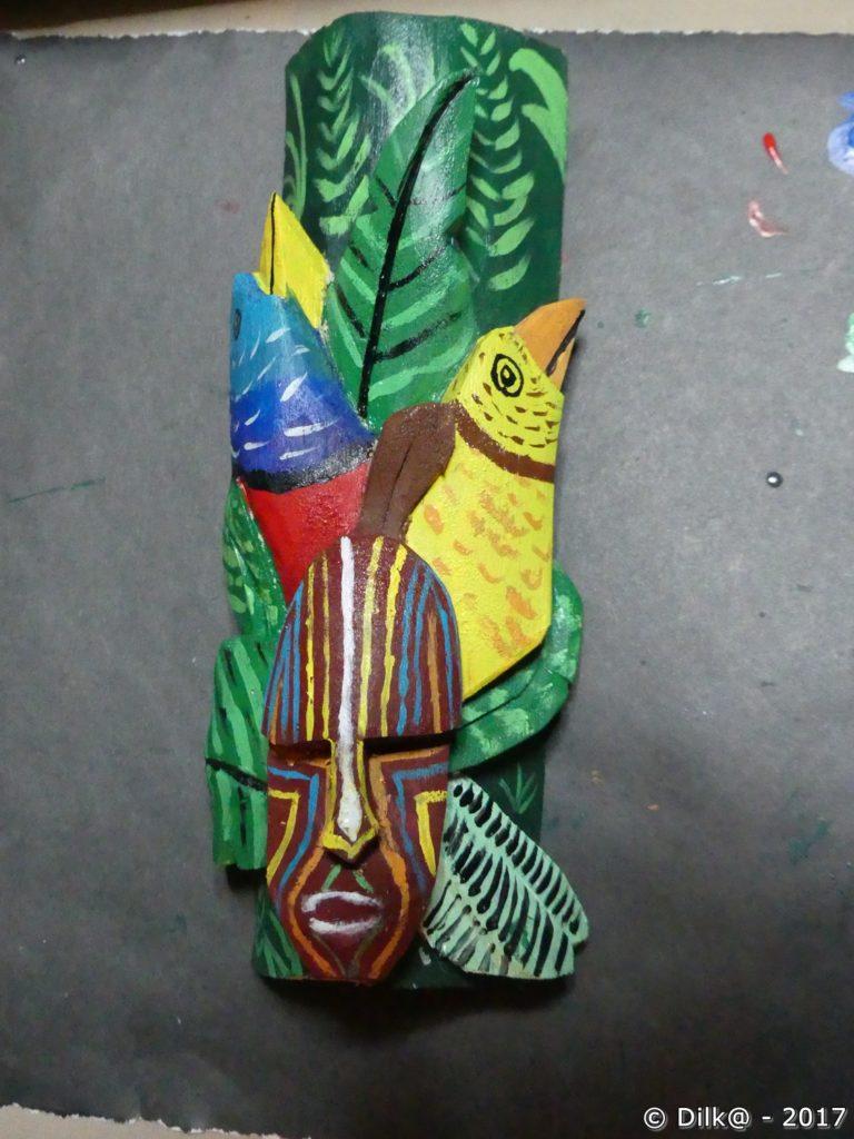 le masque que j'ai peint