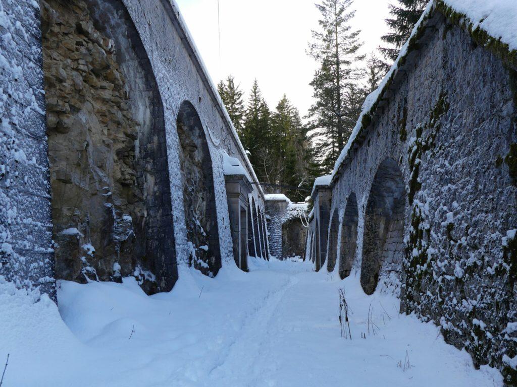 La porte de France du Fort des Rousses