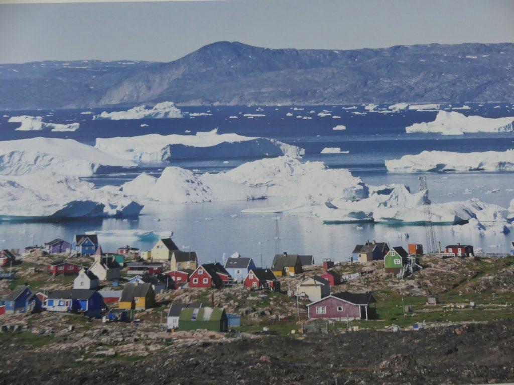 Photo de l'Arctique a l'espace des mondes polaires