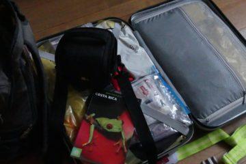 Ma valise au départ