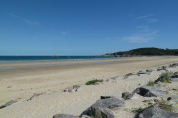 La plage du Minieu