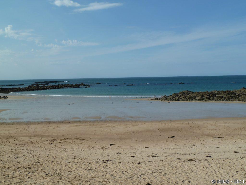 La plage de Pléhérel