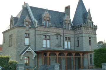 Villa de l'époque des bains de mer