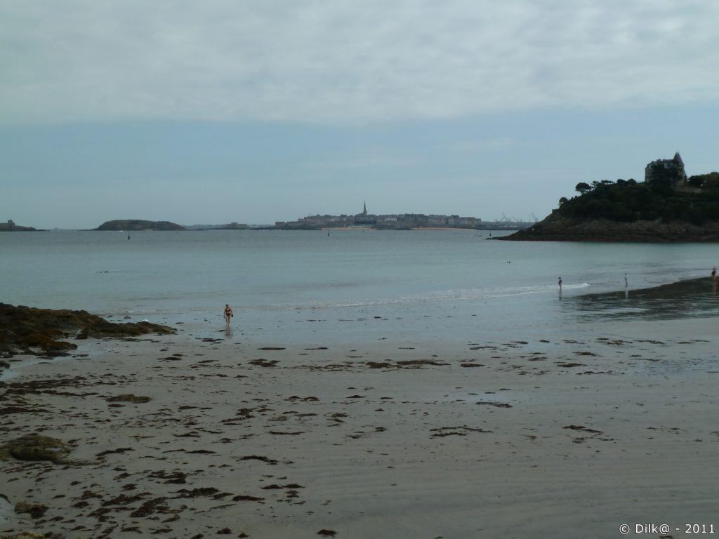 plage de Dinard