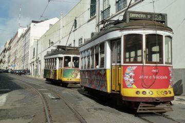 La ligne 28 du tramway de Lisbonne