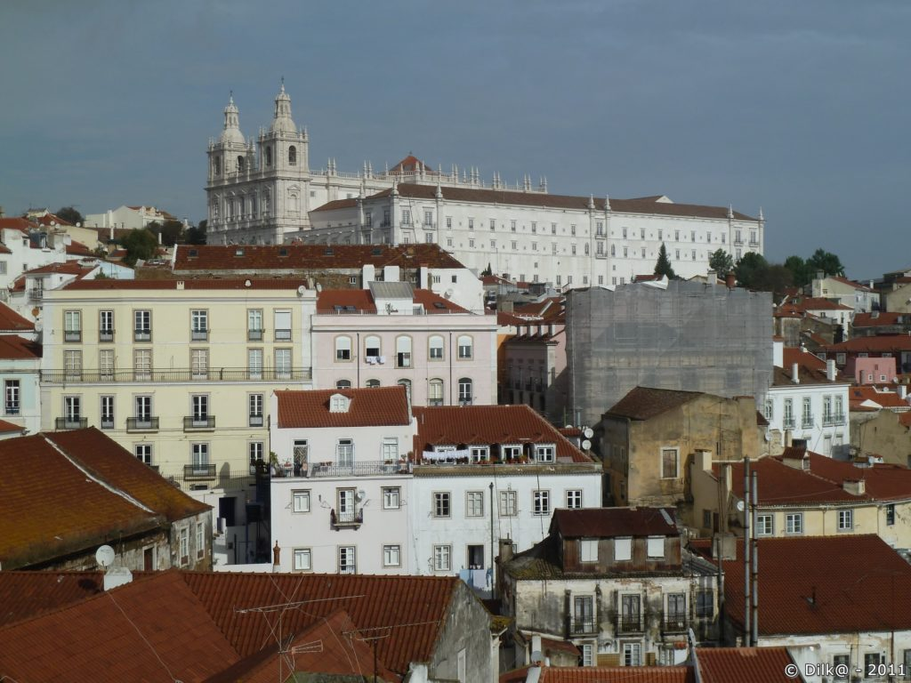 « Mosteiro de São Vicente de Fora » (Monastère Saint Vincent Hors les Murs)
