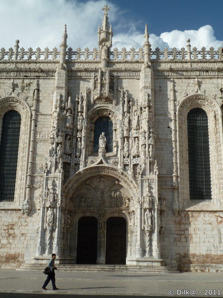 L'entrée du monastère