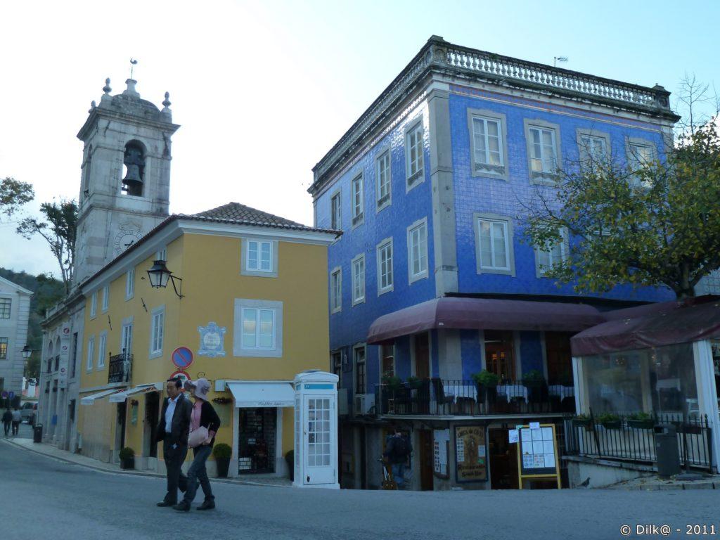 Les maisons colorées de Sintra