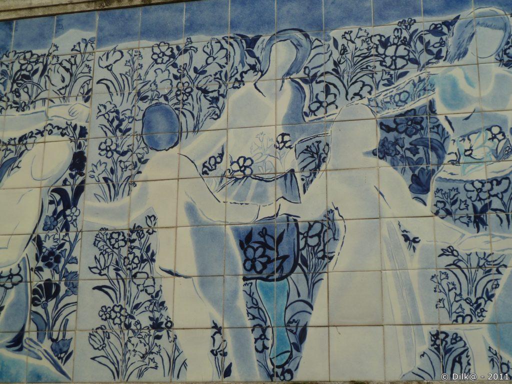 Détail de l'azulejos