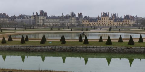 Le château de Fontainebleau et son parc