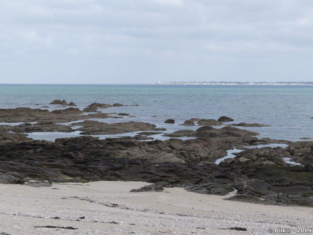 La plage du Sable Menu au Croisic