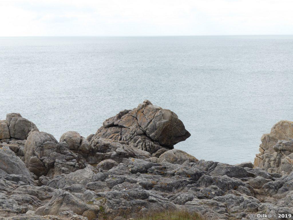 Le rocher de l'Ours au Croisic