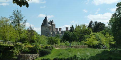 Le château de la Groulaie à Blain