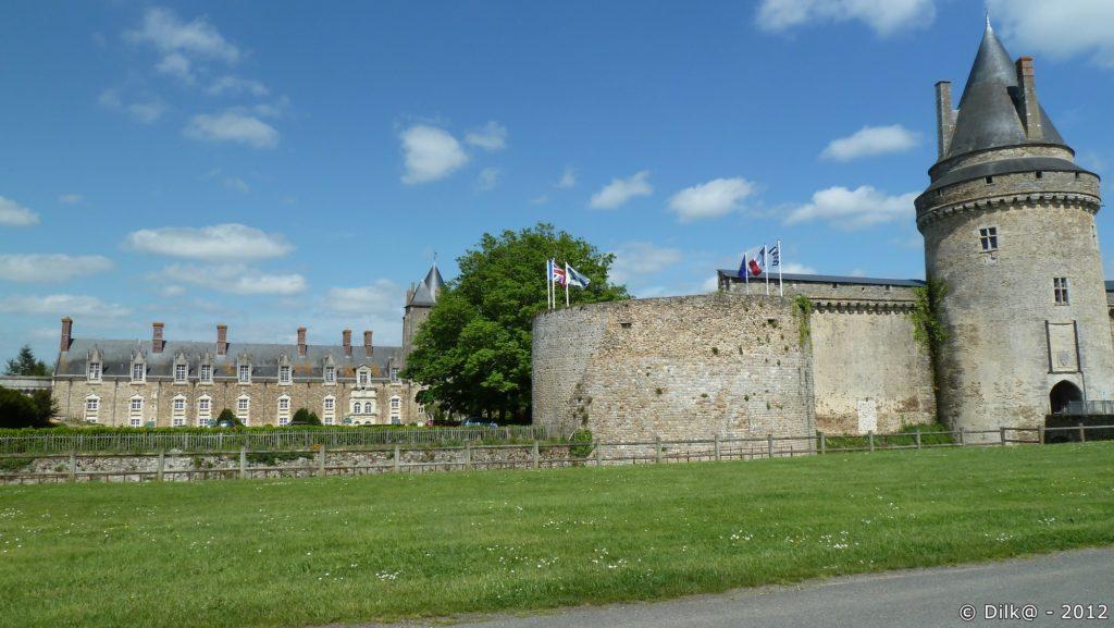 Le château de la Groulaie