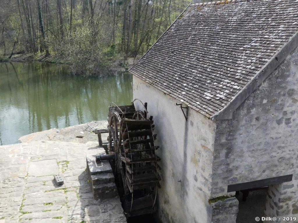 Le moulin à Moret-sur-Loing