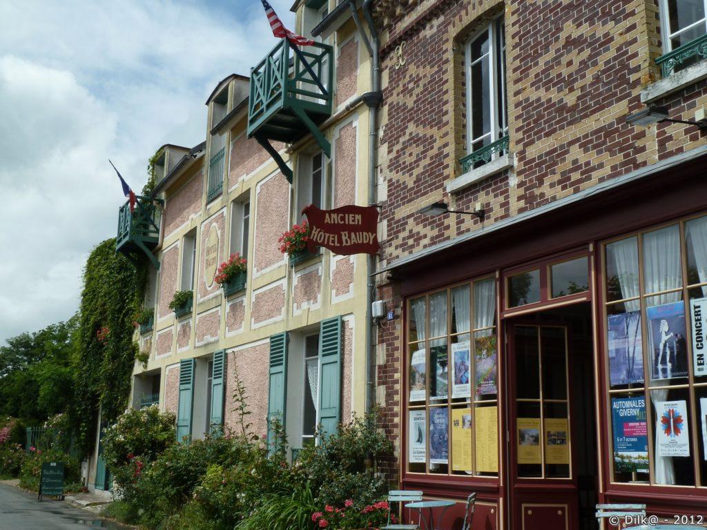 L'ancien Hôtel Baudy