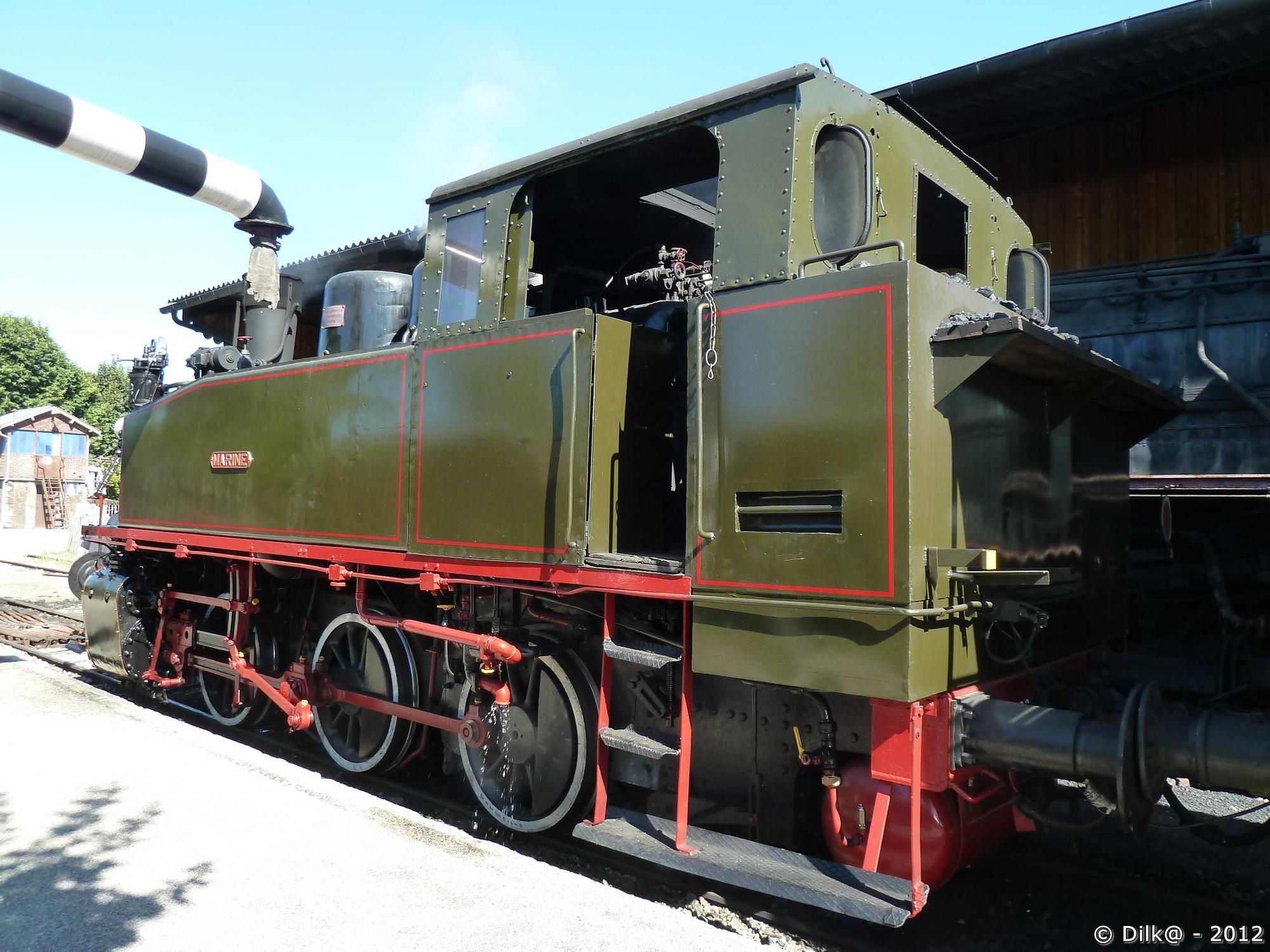 La locomotive à vapeur