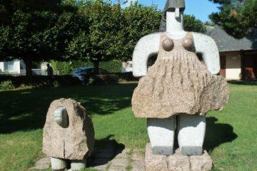Sculptures monumentales en granit
