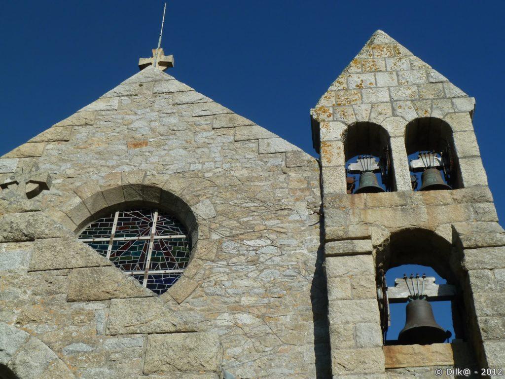 L'église Saint-Marc, construite sur les ruines d'une ancienne chapelle.