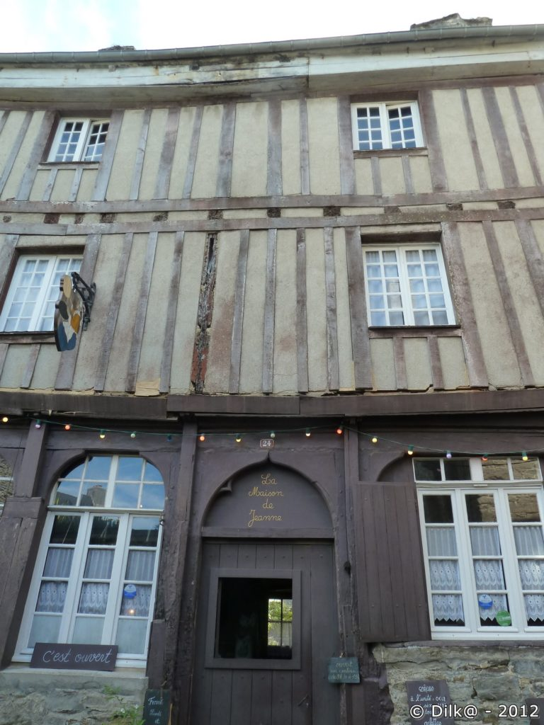 La crêperie : la maison de Jeanne