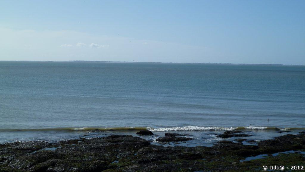 L'île de Noirmoutier à l'horizon
