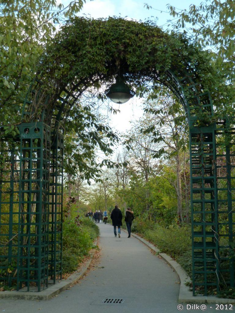 La promenade plantée de Paris