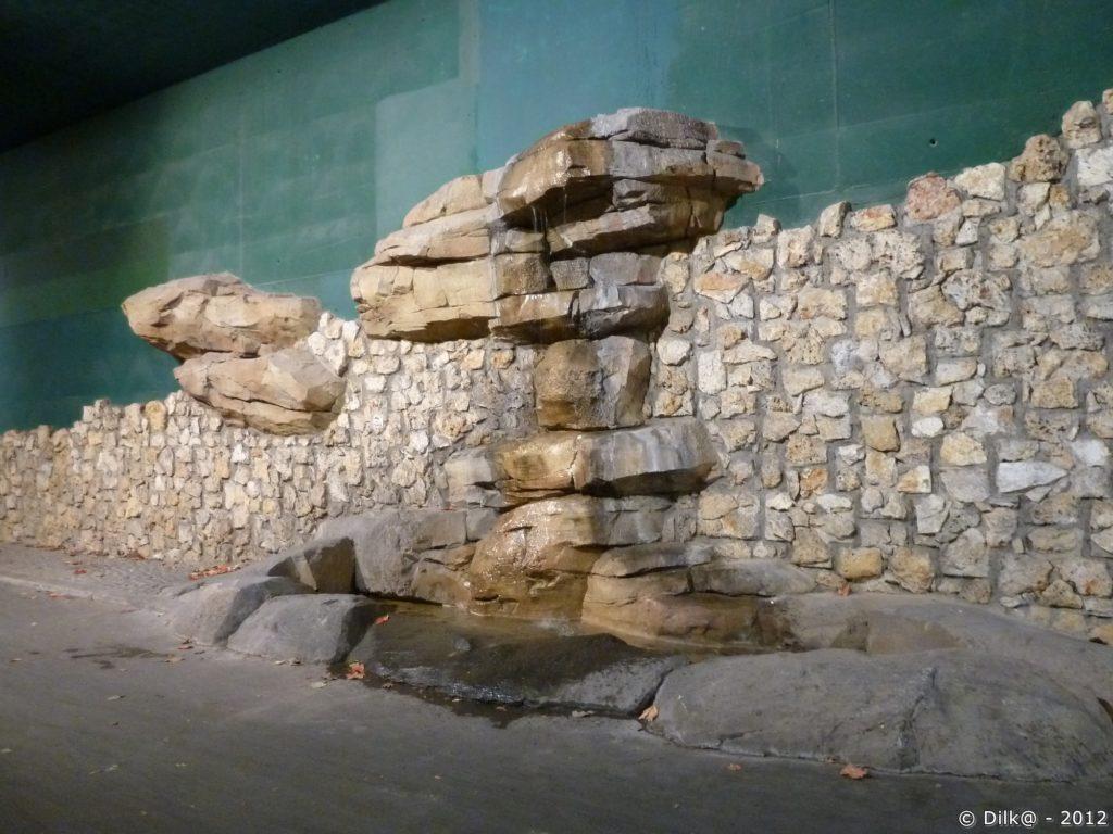 Vestiges d'un mur