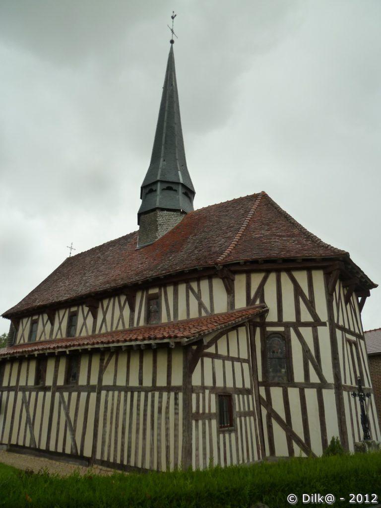 Bailly le Franc : église de l'exaltation de la Sainte Croix