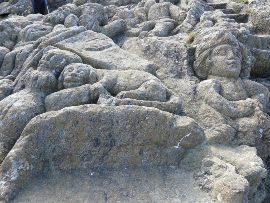 Les rochers sculptés de Rotheneuf