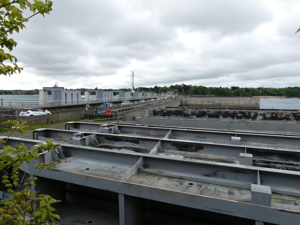 L'usine marémotrice de la Rance