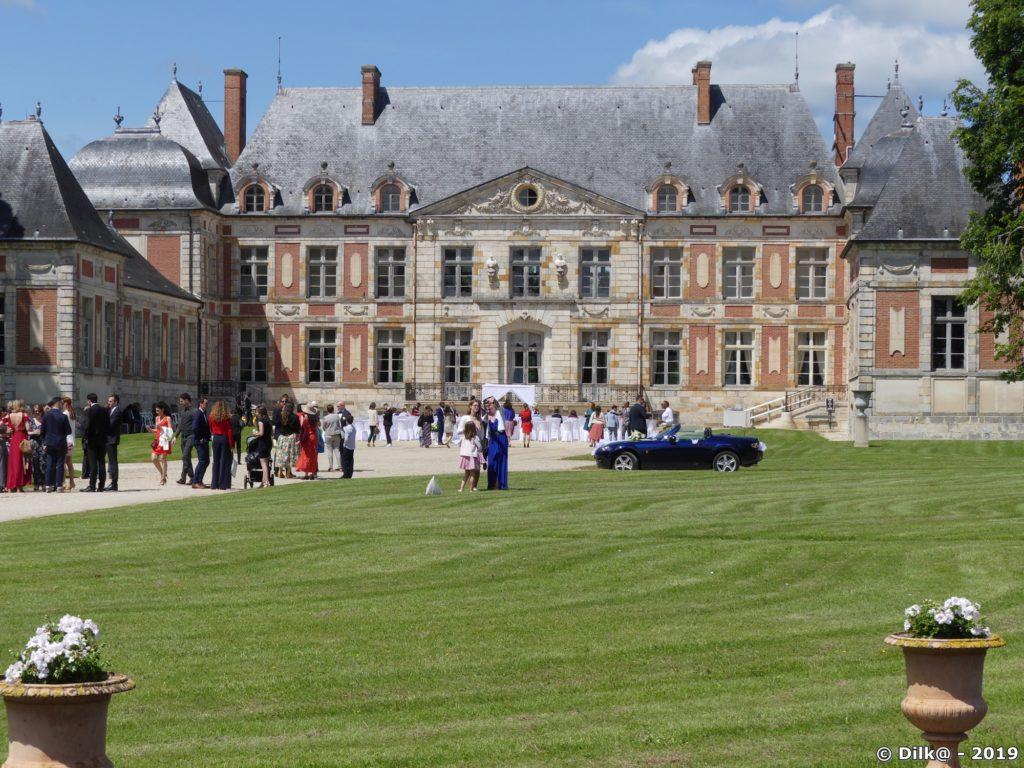 Festivités au château de Courson