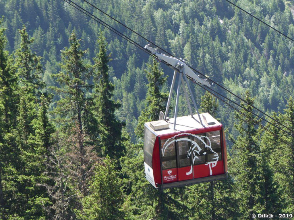 Le téléphérique du Mont Bochor