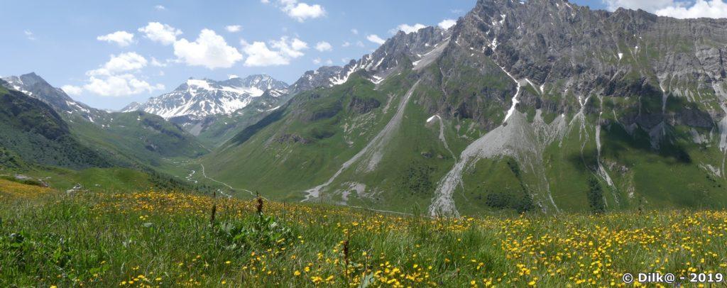 Le vallon du Peclet-Polset