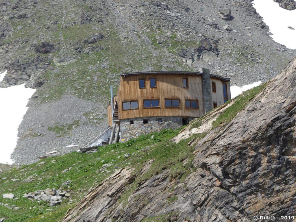 Le refuge de Peclet-Polset