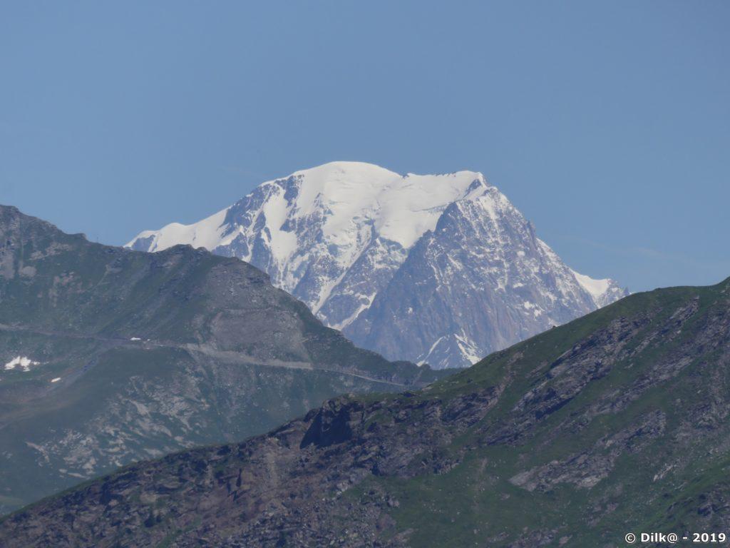 Le Mont-Blanc vu depuis le col de Napremont