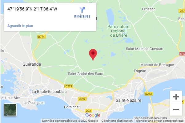 Le Parc Naturel Régional de Brière
