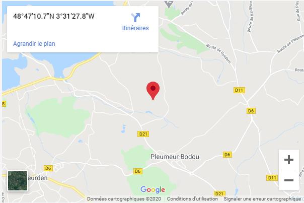 Le Parc du Radôme à Pleumeur-Bodou