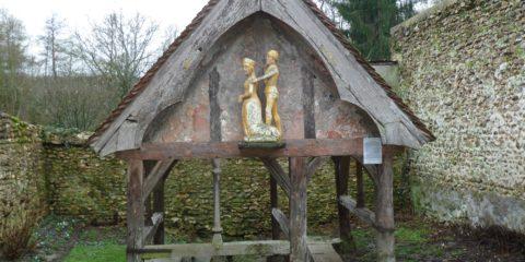 La fontaine de Sainte Mesme