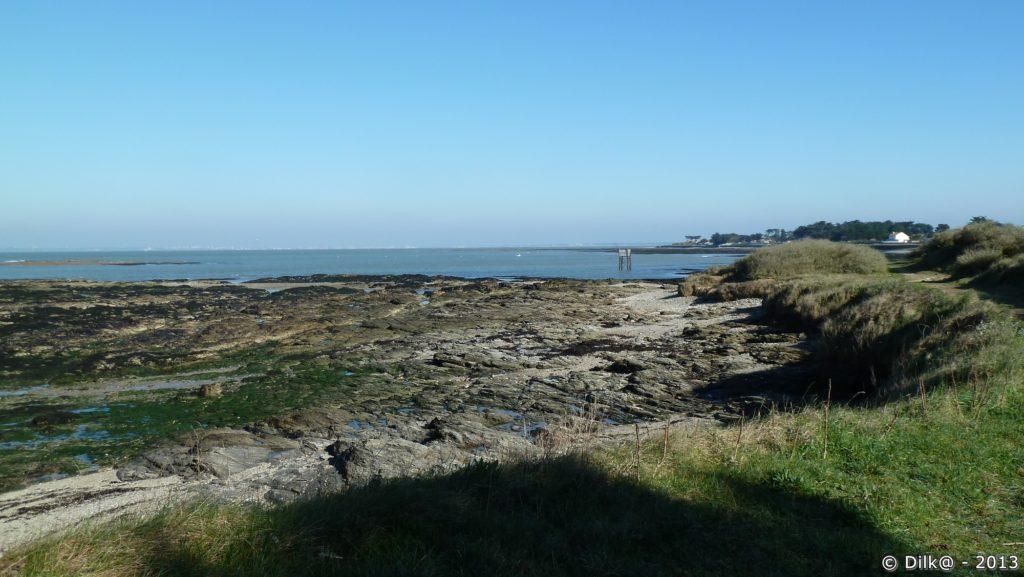 La côte sauvage près de Saint-Gildas